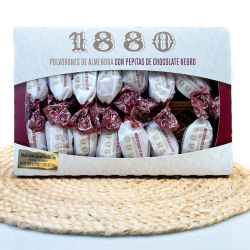 Polvorones with Chocolate Chips - Crumble cakes by 1880