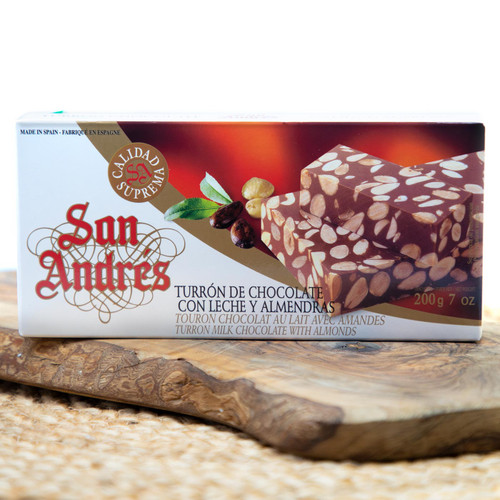 Chocolate Almond Turron by San Andre