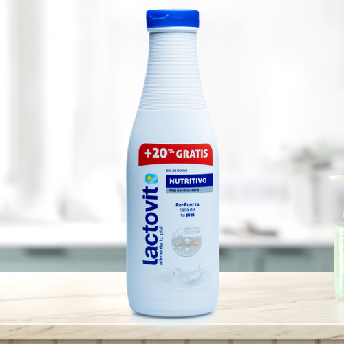 Bath Gel with Milk Proteins by Lactovit