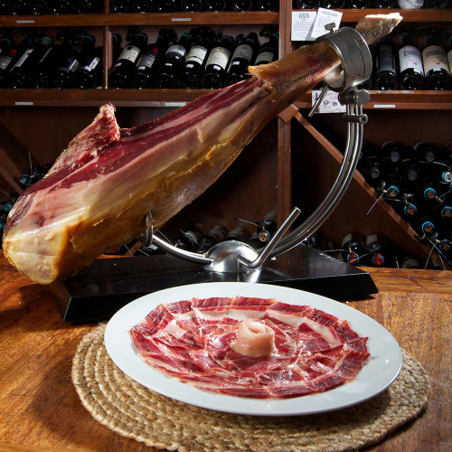 Jamón 100% Ibérico de Bellota Bone-in Ham by Fermín