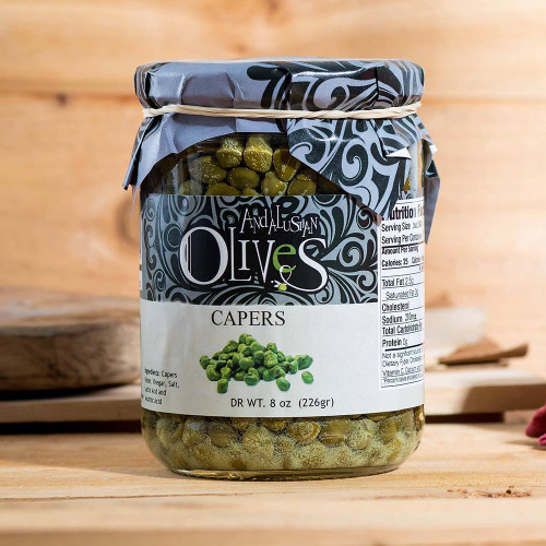 Capers by Andalusian Olives