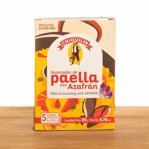 Paella Seasoning with Saffron by Chiquilin