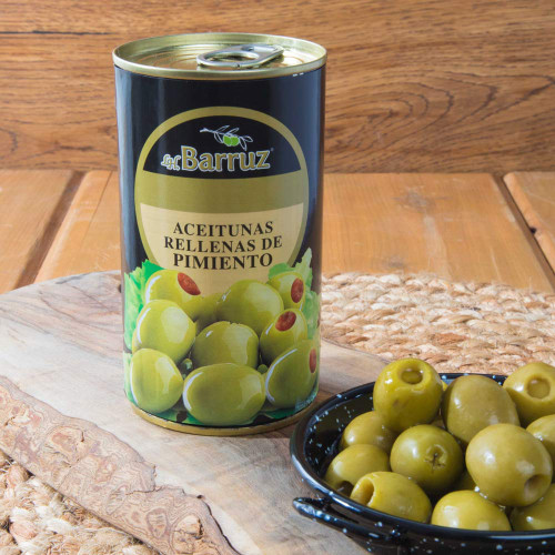 Manzanilla Olives Stuffed with Pimiento