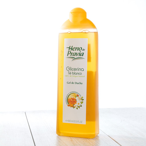 Heno de Pravia Shower Gel with Glycerin & White Tea