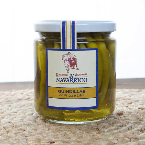 Spanish Chillies in Vinegar Guindillas