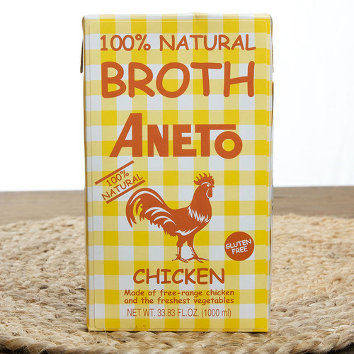 Chicken Broth 100% Natural by Aneto