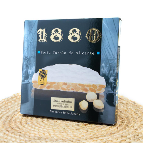 Almond and Honey Brittle Cake by 1880