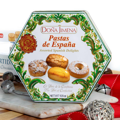 Assorted Spanish Delights Gift presentation by Dona Jimena