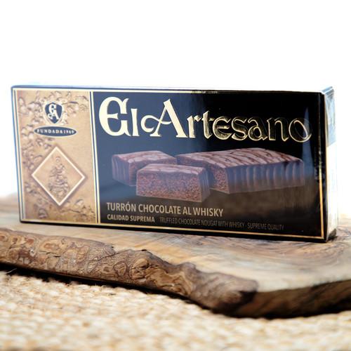 Whiskey Chocolate Nougat - Turron