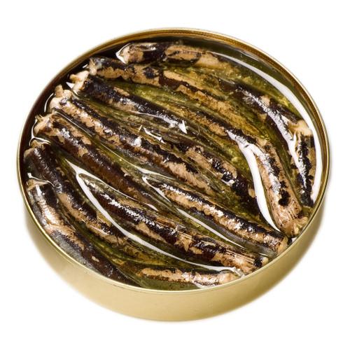 Needlefish in olive oil by Ramon Peña