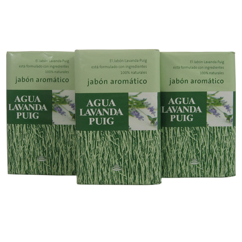 Lavanda Puig soap 3 pack