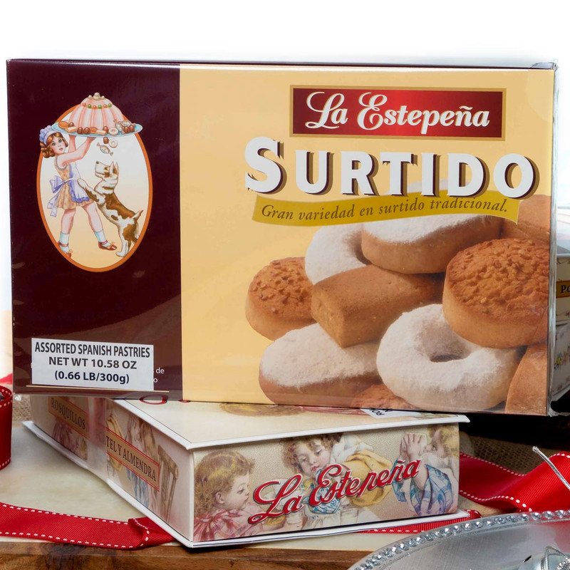 Surtido - Assortment Box 300 g by La Estepeña