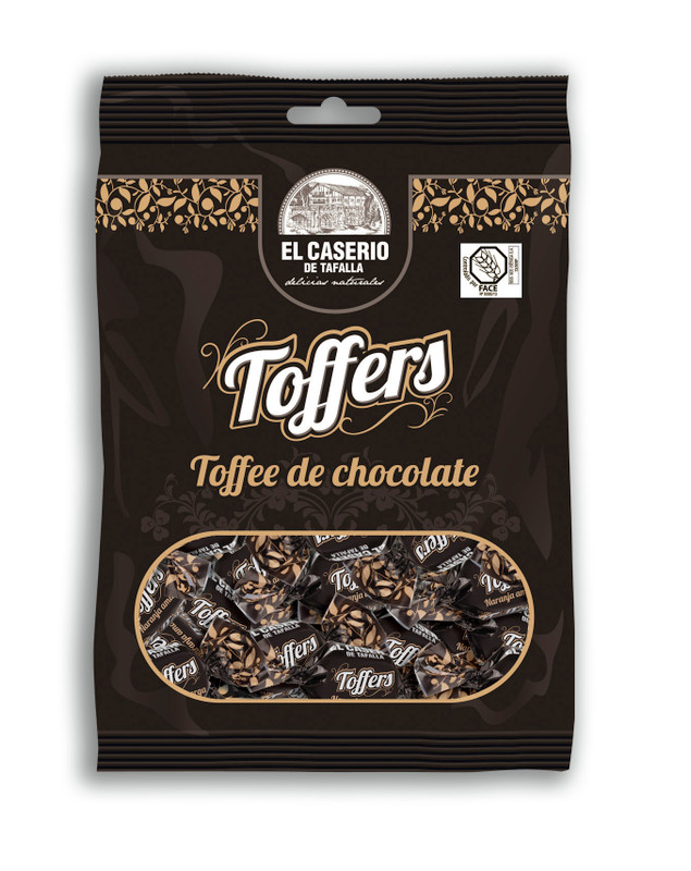 Chocolate Toffers by El Caserio