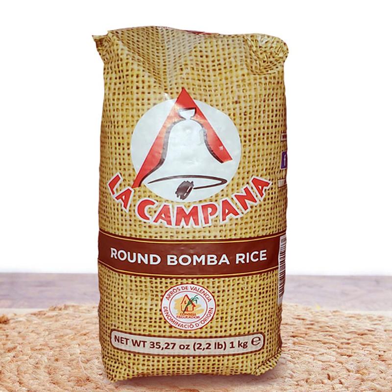 Bomba White Rice  La Campana