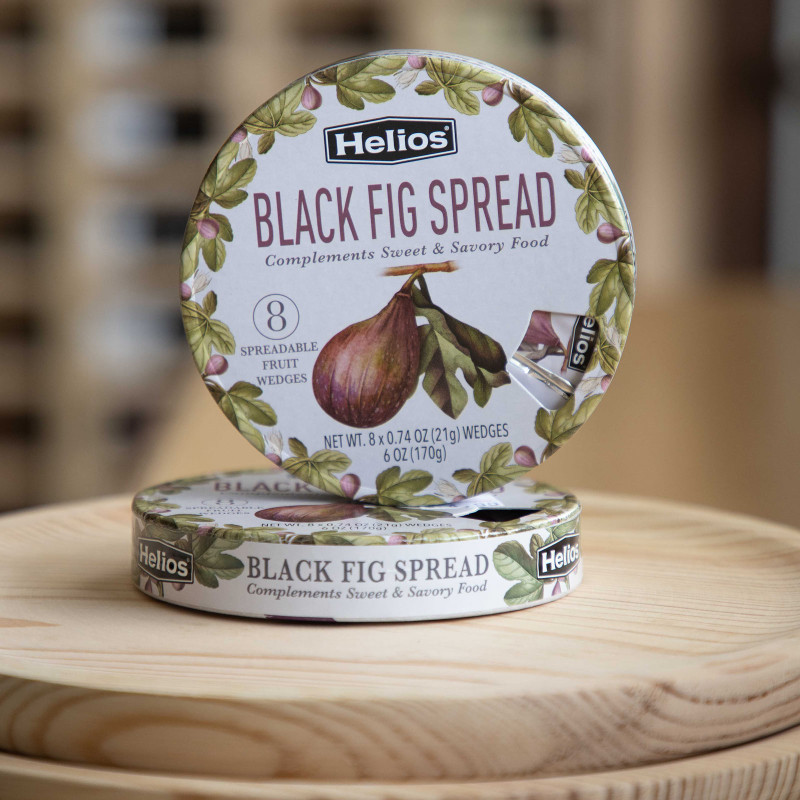 Black Fig spread portions by Helios