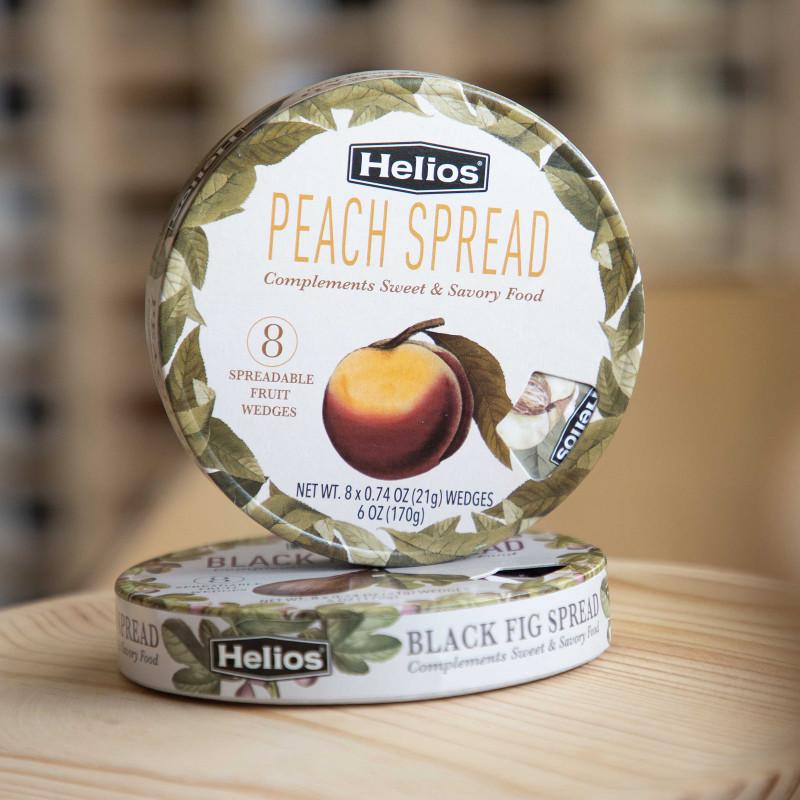 Peach spread portions by Helios
