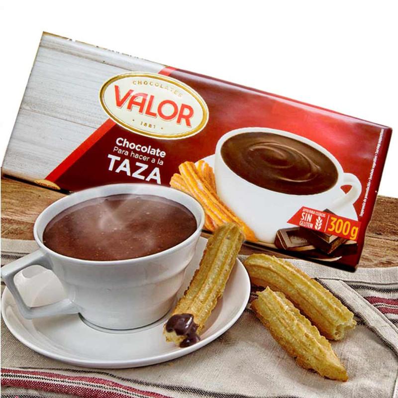Chocolate en taza Valor