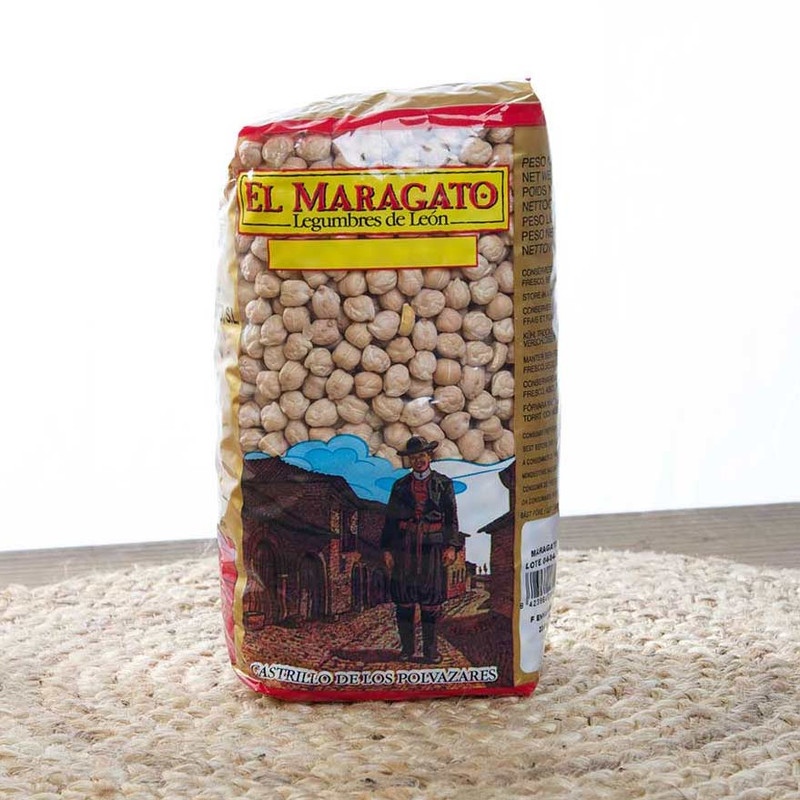Dried Chickpeas - Garbanzos by El Maragato
