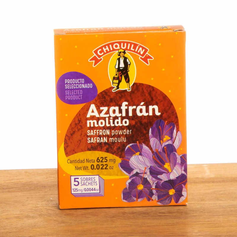 Saffron Powdered by Chiquilin
