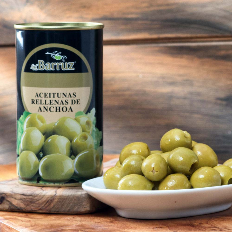 Olives Stuffed with Anchovies