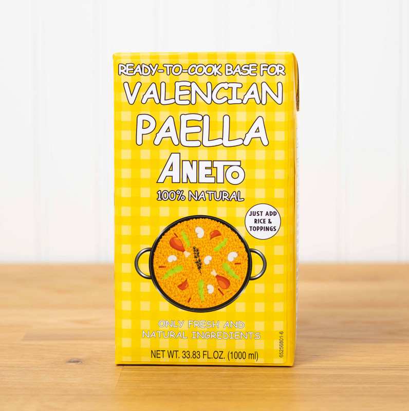 Broth for Paella by Aneto, Valencian Style 100% Natural