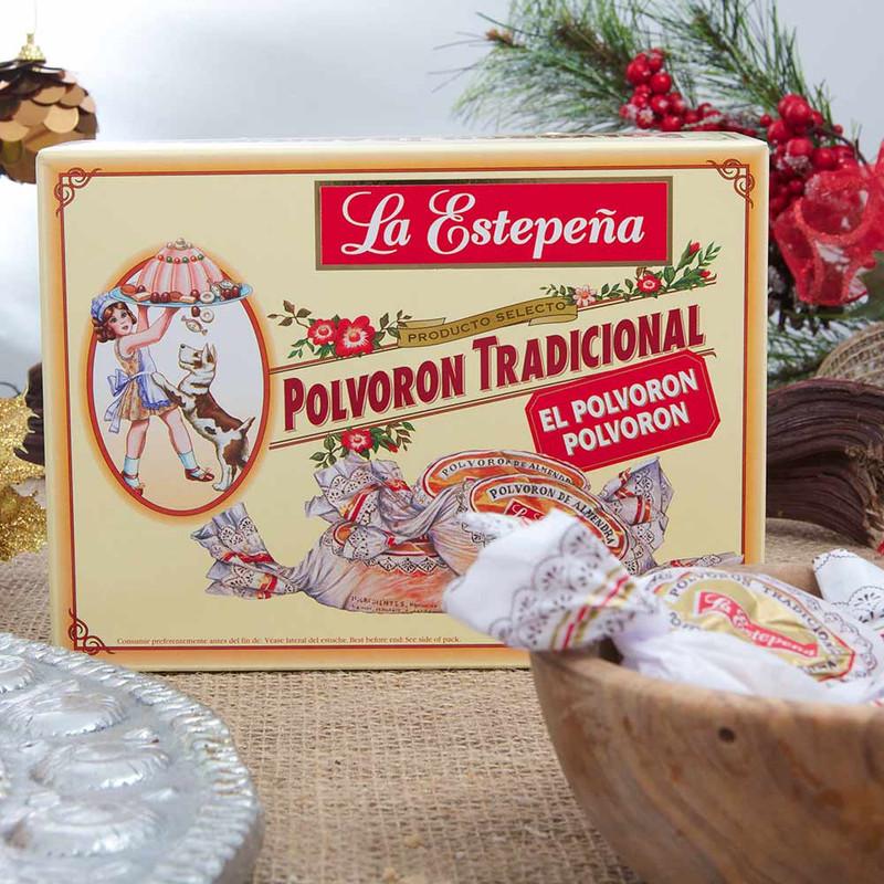 Traditional Polvorones - large box - by La Estepeña