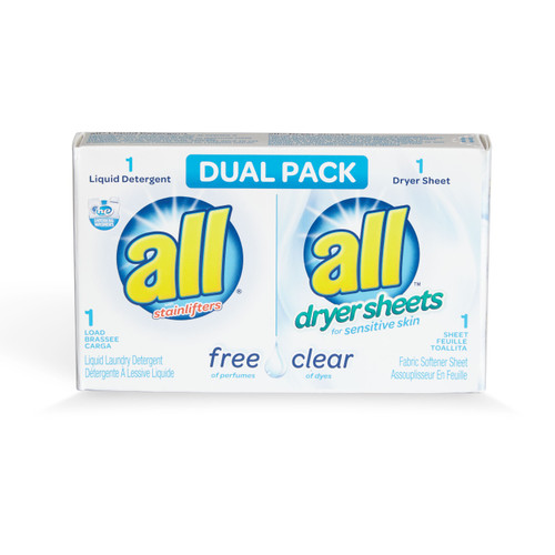 All Free & Clear Dual Pack 100 count
