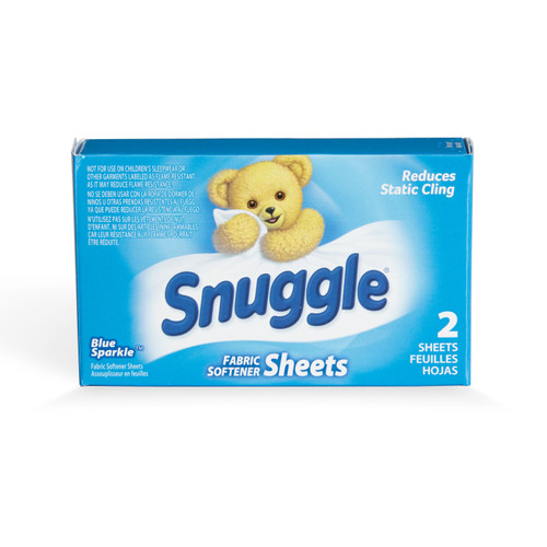 Snuggle Dryer Sheets 2 per box 100 count