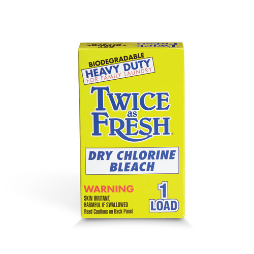 Twice As Fresh Dry Chlorine Bleach 100 count  ***manufacturer out of stock ***