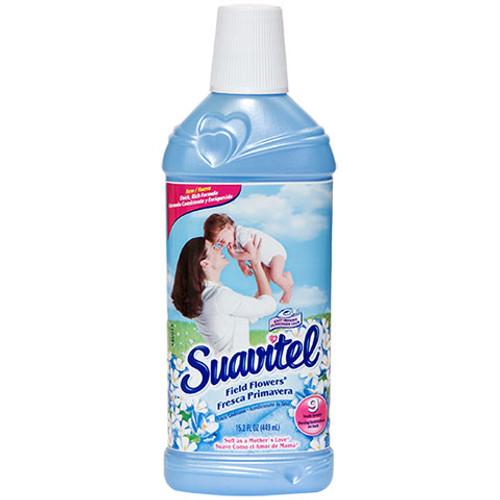 Suavitel Liquid Fabric Softener 15.2oz Field Flowers 12 count
