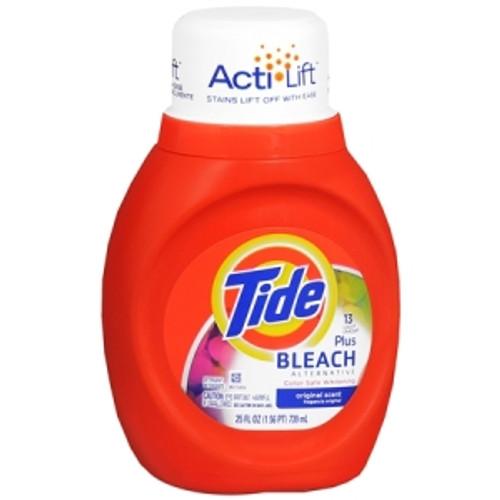 Tide 2X Liquid with Bleach Alternative 25oz 13 Load/ 6 count