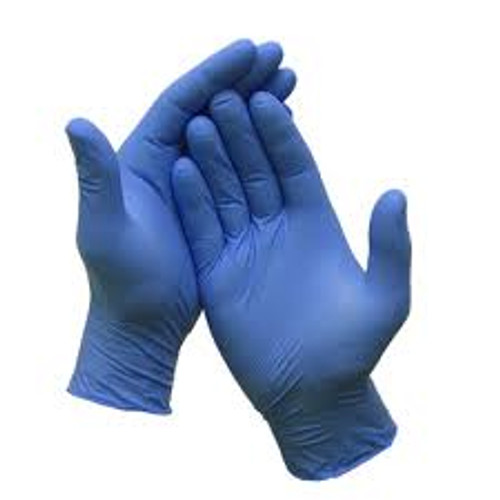Gloves Nitrile Medium Powder Free 100 count
