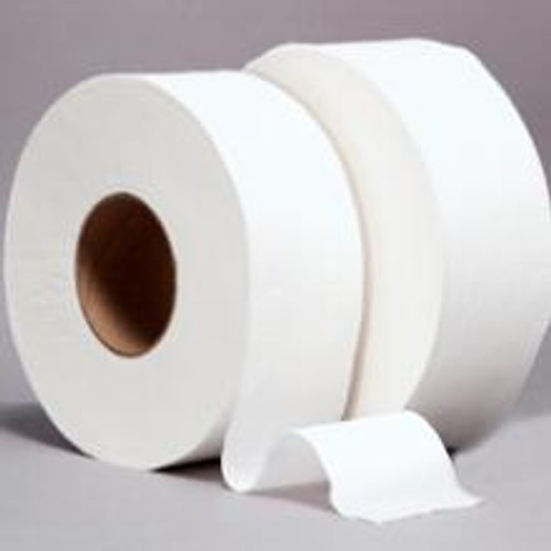 """Bath Tissue Jumbo Roll 2 PLY 12"""" 3 7/8"""" Wide 6 count"""