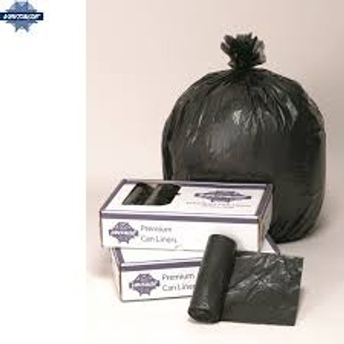 Trash Liner 33 Gallon 33X39  Heavy Black .9 Mil 150 count