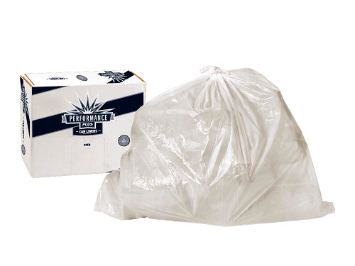 Trash Liner 33 Gallon 33X39 Clear 10/25 count