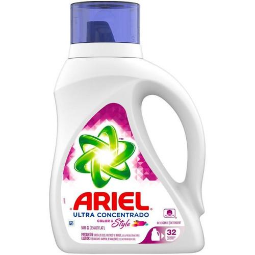 Ariel Liquid Color 50oz 32 Load/ 6 count