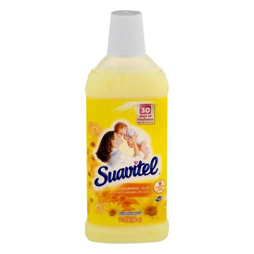 Suavitel Liquid Fabric Softener Morning Sun 15.2oz/12 Count