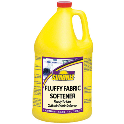 Fluffy Fabric Softener(Simonize) 4x1 Gallon