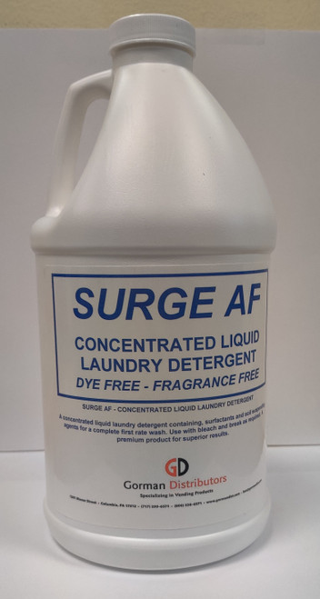 Surge Free & Clear Liquid Detergent 6-1/2 Gallon
