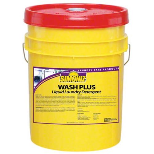 Wash Plus Laundry Detergent (Simonize) 5 gallon bucket