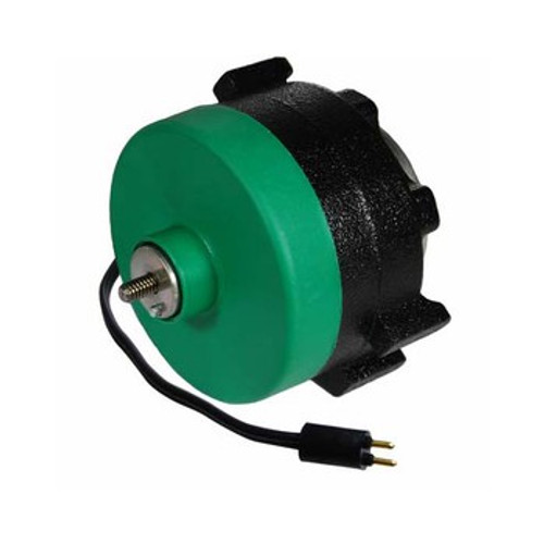 15546 EM&S ECM Motor, Replaces Hussmann, 115 Volt, 0.3 Amps, 1550 RPM, CW Lead End, 1/4-20 X 0.425 Threaded Shaft, Includes Straight Lyall Type Plug, 60 Hz
