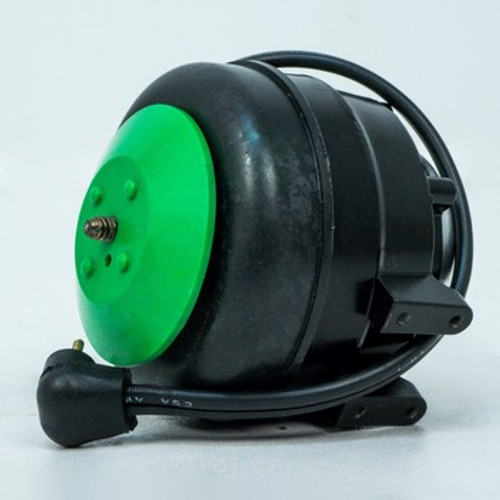 "10313 6-12 Watt ECM Motor, 1550 RPM 115 CW Lead End, 50/60 HZ 1/4"" threaded shaft, Includes 90 degree Lyall Plug"