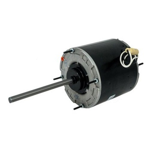 "30825F Packard Vulcan Motor, 5.6"" Dia., PSC, 1.6-1.8 Amps, Totally Enclosed, Ball Bearing, Reversible, 1/2"" X 6 1/2"" Shaft, Class F Insulation"