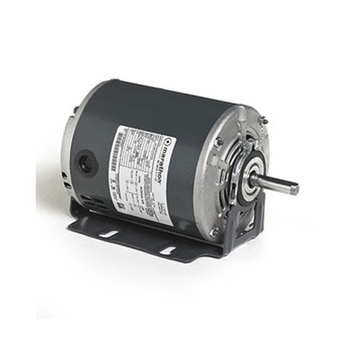 4311 Marathon 48 Frame Fan and Blower Duty Motor, Split Phase, Ball Bearing, 1.0 SF, Dripproof, 60 Hz