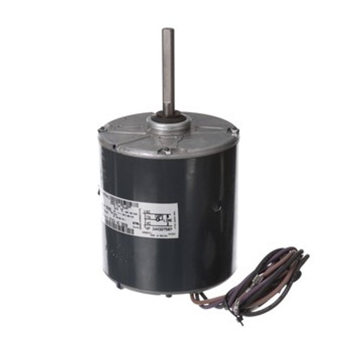 3920 genteq, 48 Frame, PSC Condenser Fan Motor, 0.4 HP, 1075 RPM, 380-415/460V, CCW Lead End, Totally Enclosed, 1.4 Amps, Sleeve Bearing, 60 Hz, Replaces Trane