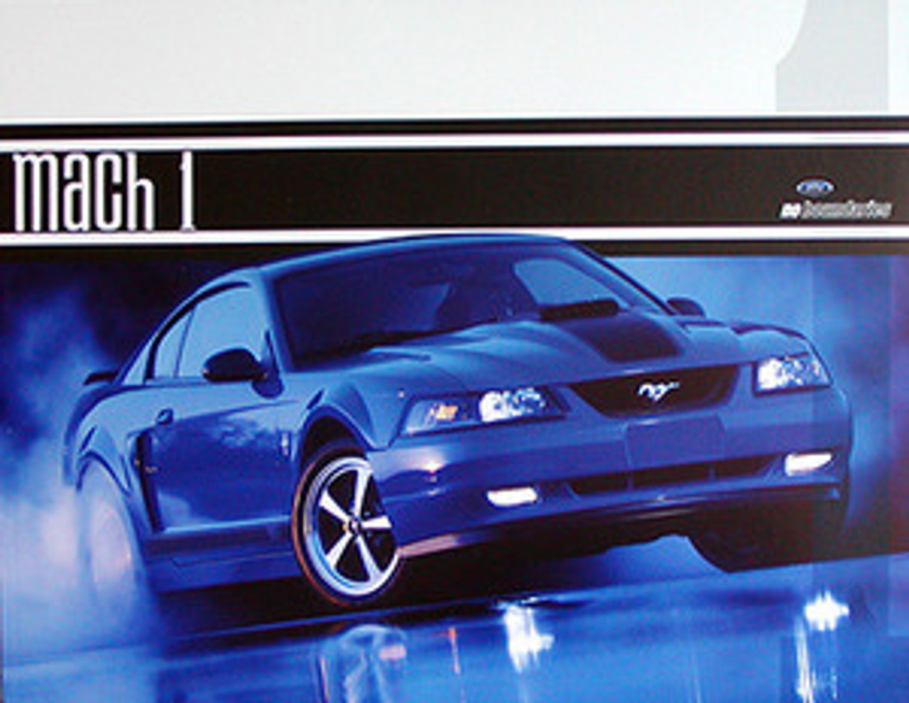 2003 Mustang Mach1 Tech Card - Set of 2