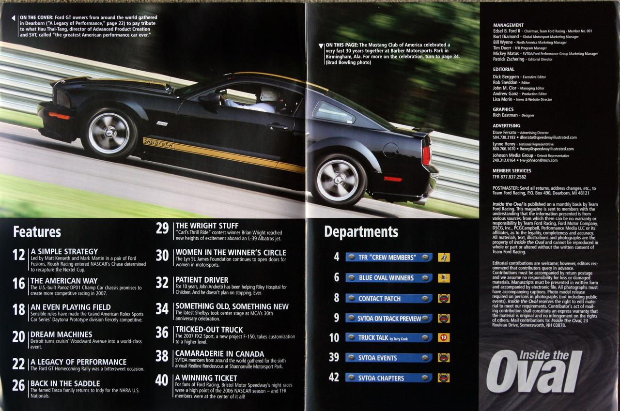 SVT Enthusiast Magazine - October 2006
