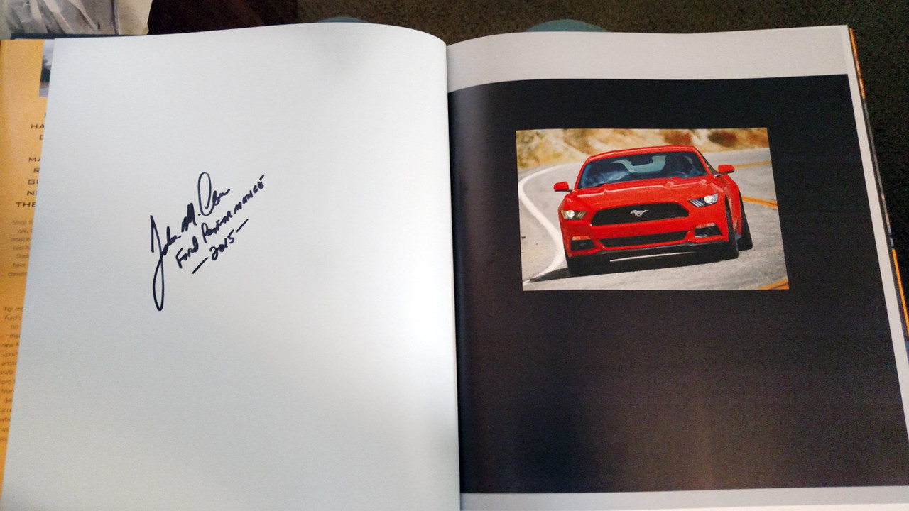 MUSTANG 2015 Book - Signed By Author John M. Clor