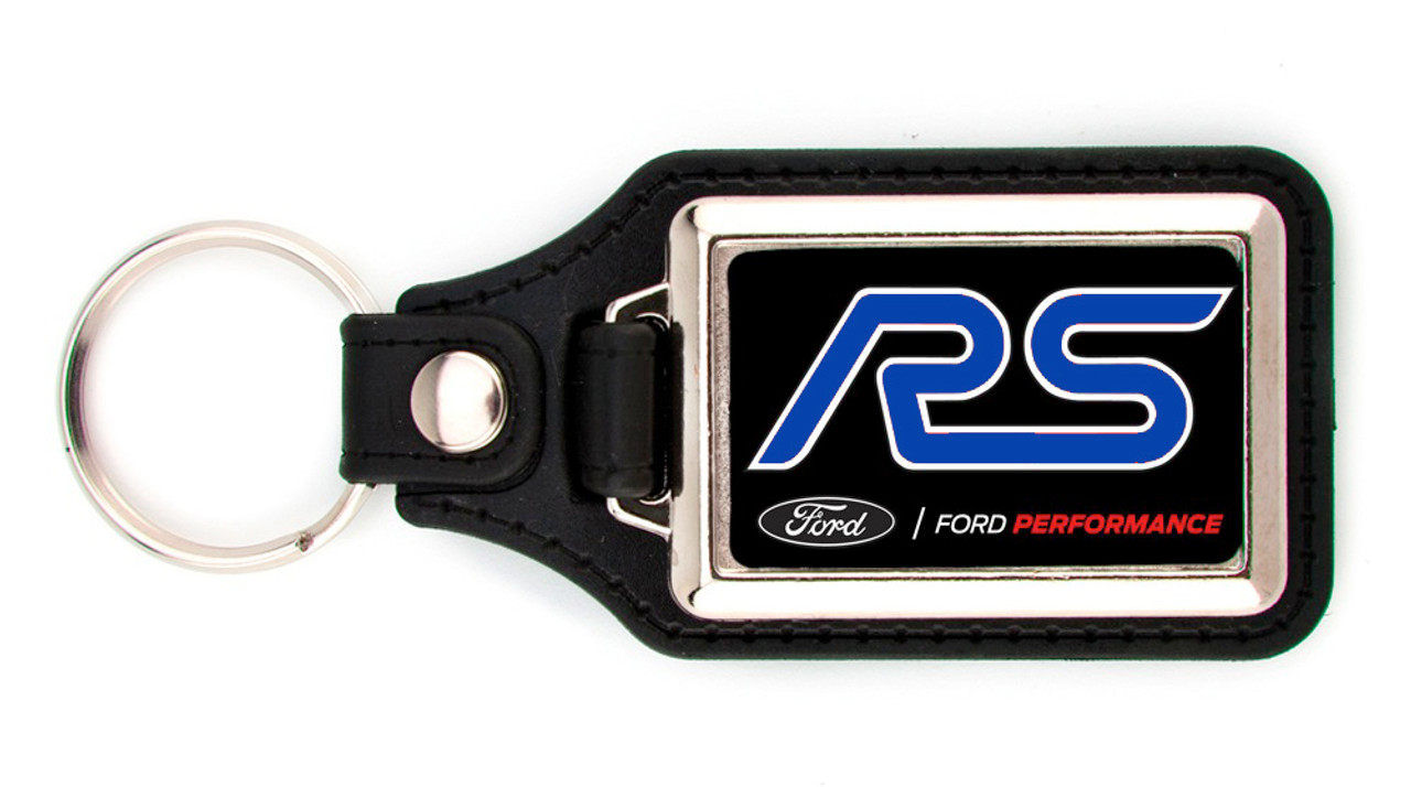 Ford Performance Leather Keychains