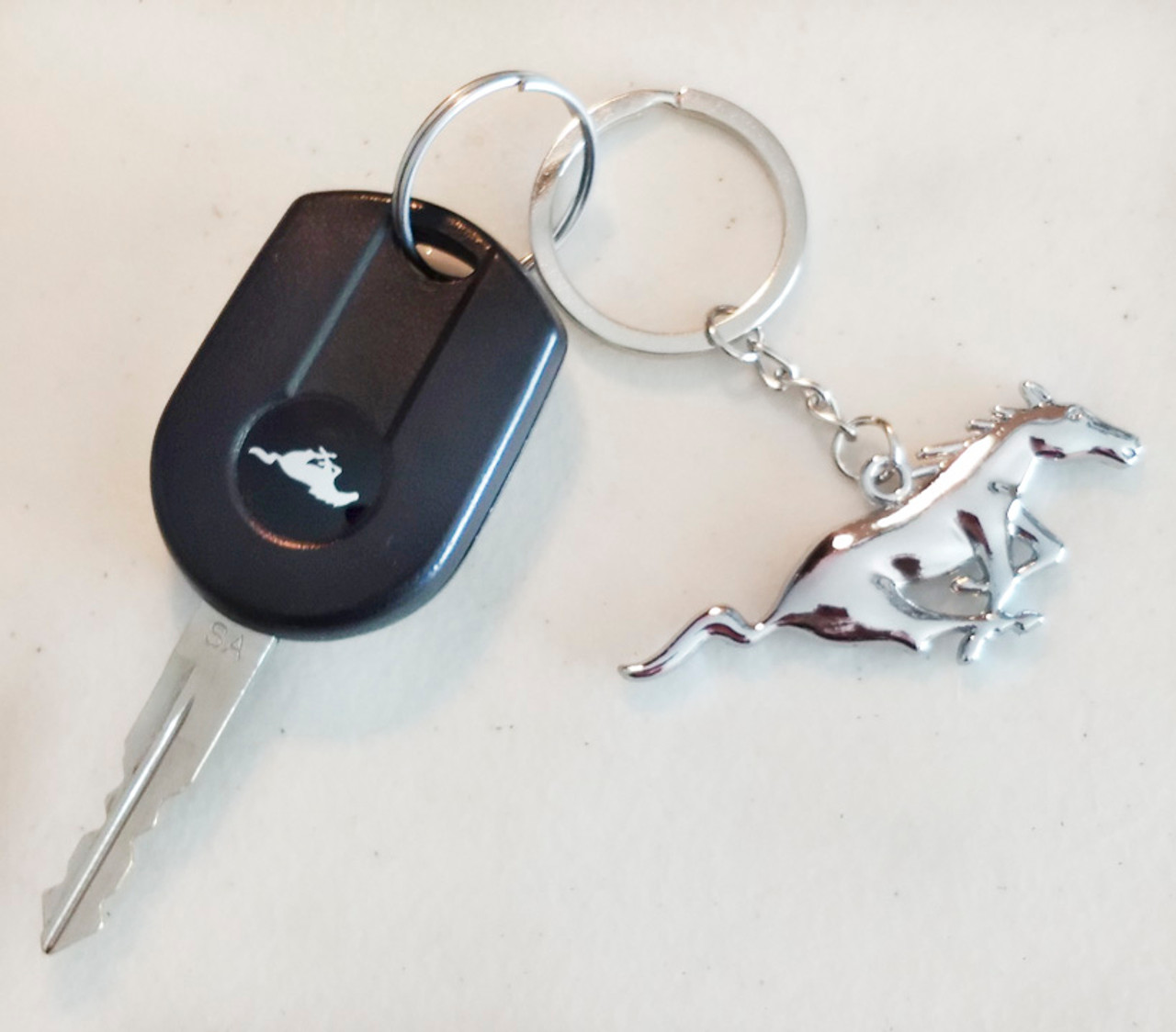 Mustang Pony Keychain